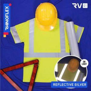 Polyflex reflective silver RV-01